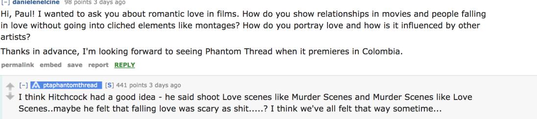 hitchcock murder romance