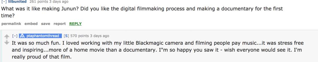 making blackmagic camera